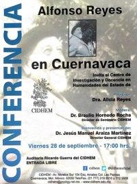 Alfonso Reyes en Cuernavaca