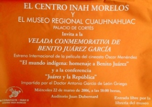 Benito Juárez, 22-03-2006