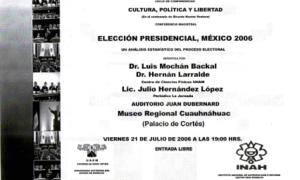 Elección presidencial, 21-07-2006