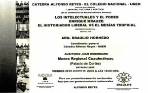 Los intelectuales y el poder, 25-08-2006
