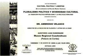 Pluralismo político, 11-08-2006