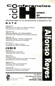 Programa 2000 Alfonso Reyes