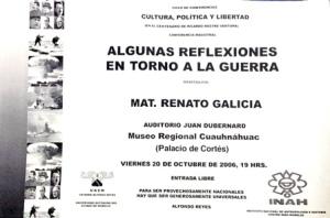 Reflexiones guerra, 20-10-2006-2