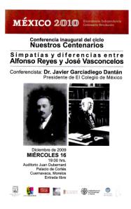 Reyes y Vasconcelos, 16-12-2009
