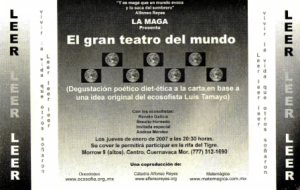 Teatro del mundo, 01-2007