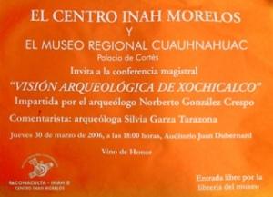 Xochicalco, 30-03-2006