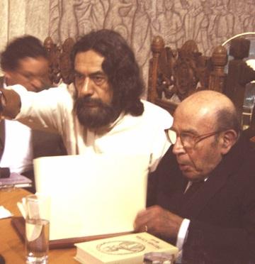 Don José Luis Martínez en Cuernavaca. Por Braulio Hornedo Rocha