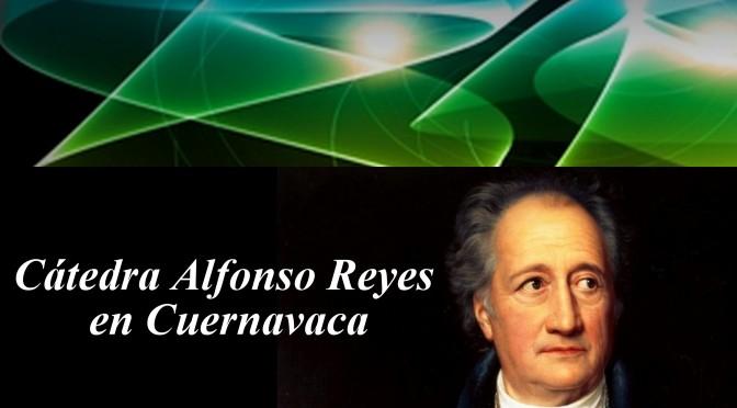 Eusebio Juaristi en la Cátedra Alfonso Reyes en Cuernavaca