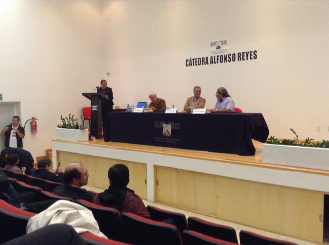 Se presenta Adolfo Castañón en la Cátedra Alfonso Reyes. Por Jorge Sifuentes