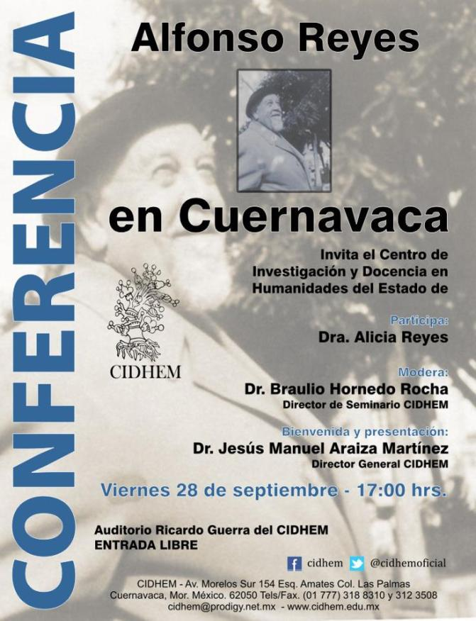 Visión de Anáhuac. Voz viva de Alfonso Reyes