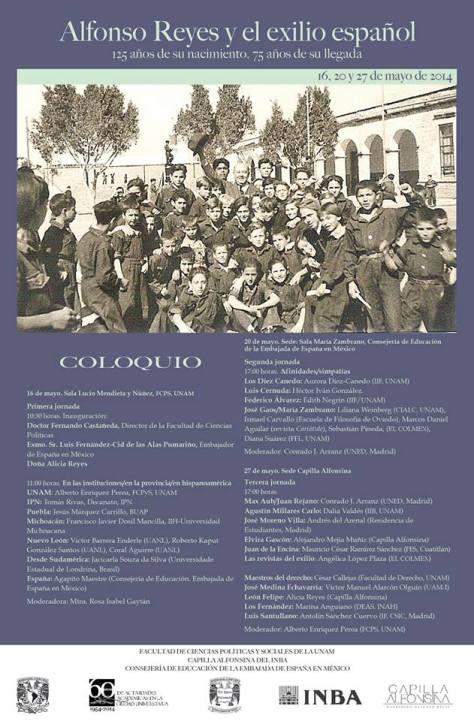 A. R. y El exilio español