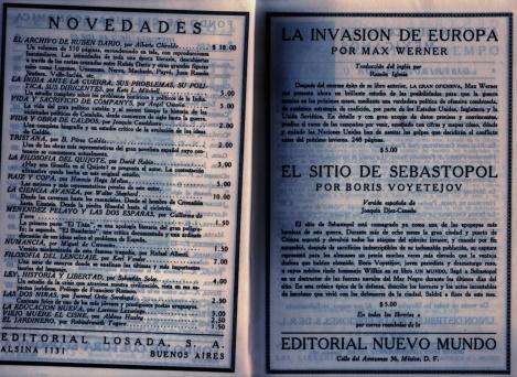 Colección dirigida por José Luis Martínez.