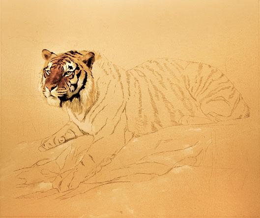 El otro tigre. Por Jorge Luis Borges