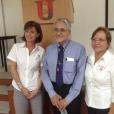 Mireya Gally, Eusebio Juaristi y Marisa del Rosario Estrada del Carrillo. Septiembre 12 de 2014