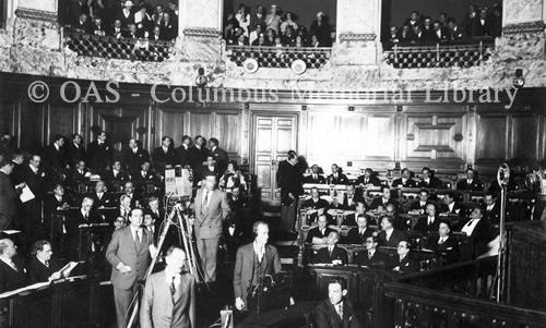 Convención sobre Derechos y Deberes de los Estados. Séptima Conferencia Internacional Americana, Montevideo (1933)