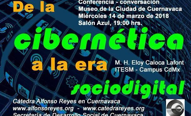 "Conferencia ""De la cibernética a la era sociodigital"""