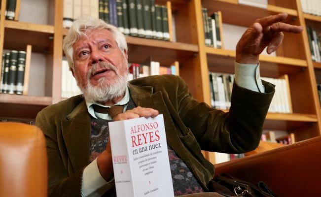 Alfonso Reyes en una nuez de Adolfo Castañón. Presentación editorial